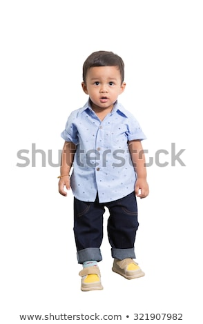 toddler isolated on floor stock photo © gewoldi