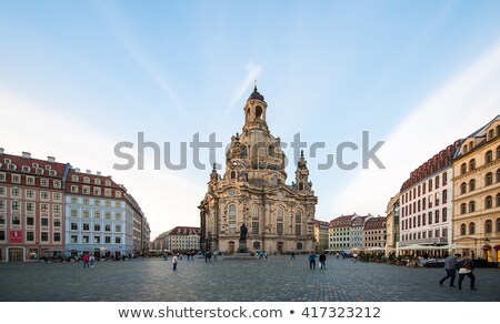 Dresden Church of Our Lady  Stock photo © LianeM