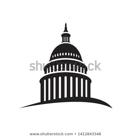 ドーム · ワシントンDC · フラグ · 色 · 歴史 · カラー - ストックフォト © Hofmeester