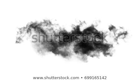 черный дым белый воды огня аннотация Сток-фото © rabel