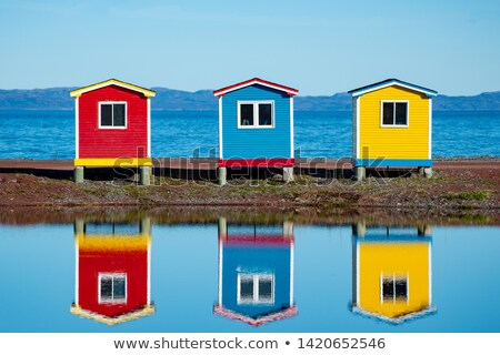 Colorful Huts  Stock photo © Vividrange