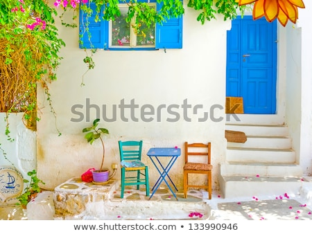 Romantische oude huis huis vol schaalbaar Stockfoto © ElaK