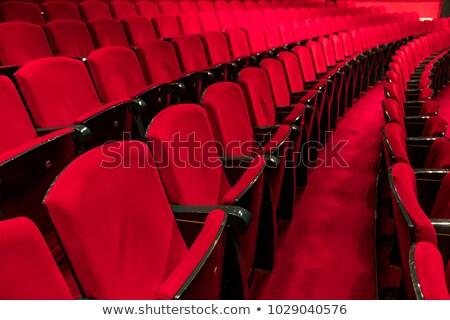 красный · театра · Председатель · шаблон · пусто - Сток-фото © hd_premium_shots