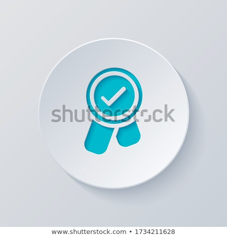 Bonus mavi vektör ikon düğme Internet Stok fotoğraf © rizwanali3d