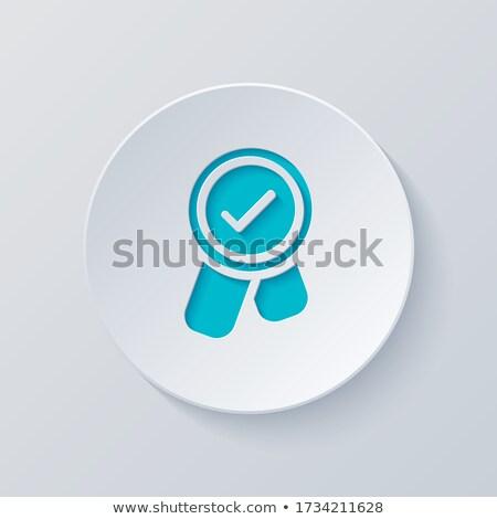 Bónusz kék vektor ikon gomb internet Stock fotó © rizwanali3d