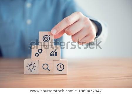 teendők · listája · szöveg · jegyzettömb · üzlet · iroda · ceruza - stock fotó © stevanovicigor