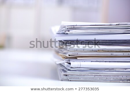 Foto stock: Big Pile Of The Newspapers