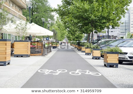 City street on a summer day Stock photo © Sportactive