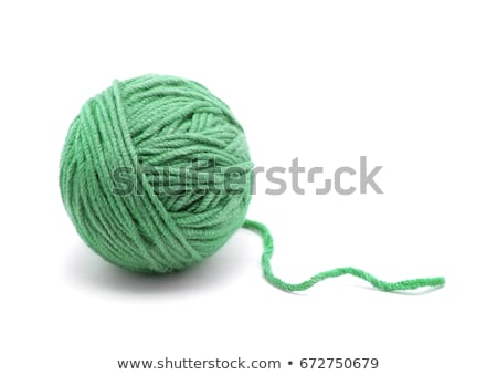 Ball of wool. Isolated on white background. Stock photo © All32