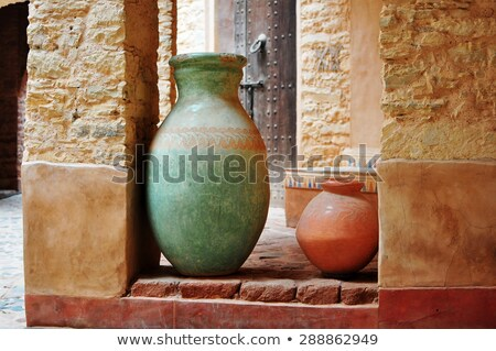 agadir medina vase Stock photo © tony4urban