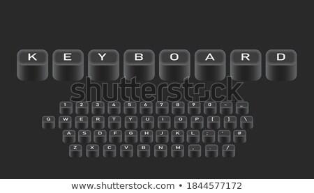 технологий кнопки Focus Сток-фото © vinnstock