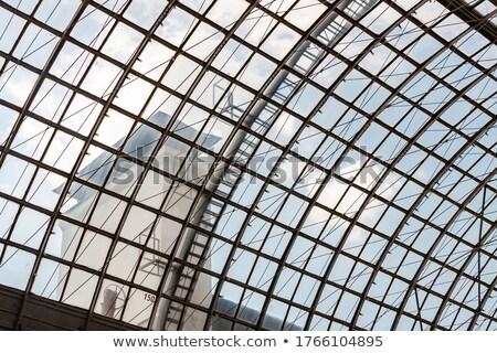 moden business office building windows stock photo © stevanovicigor