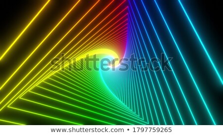 abstract colorful artistic rainbow circle stock photo © pathakdesigner
