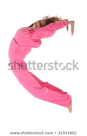 dfd727184 Menina · rosa · roupa · letra · c · esportes · livro - foto stock ...