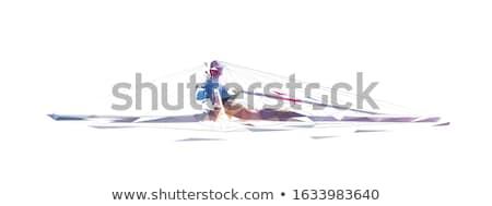 Chłopca netto zewnątrz charakter lata zabawy Zdjęcia stock © Paha_L