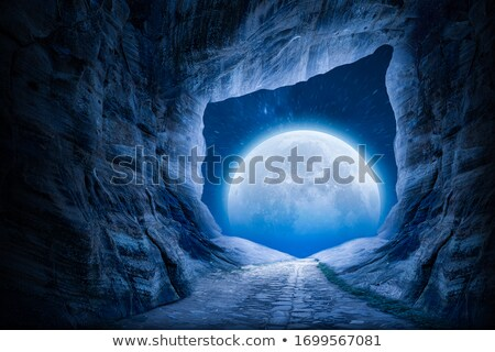 Grot berg landschap rotsen mooie Stockfoto © Kotenko