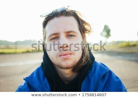 Stock fotó: Fiatal · európai · vonzó · modell · hosszú · szőke