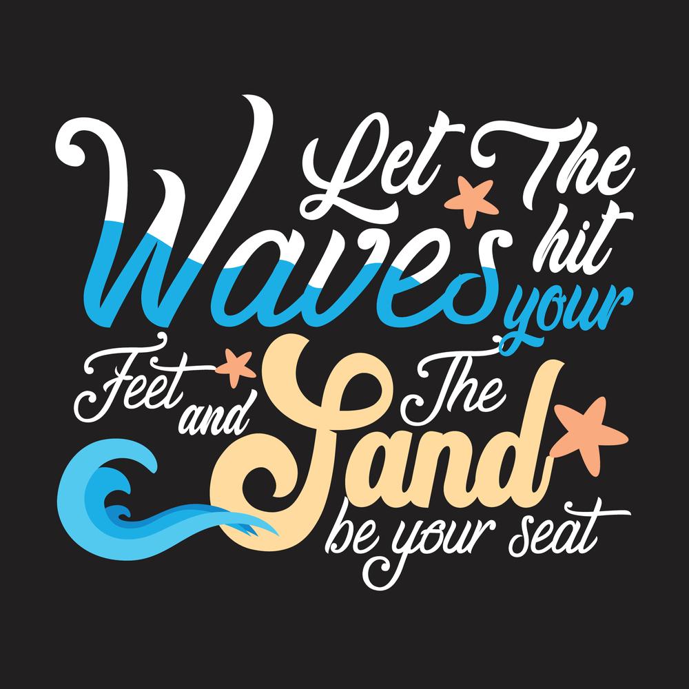 Сток-фото: Lets Hit The Waves