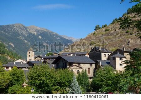 Beautiful town of Ordino in Andorra stock photo © jorisvo