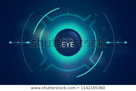 Photo stock: Technology Eye Scan Radar