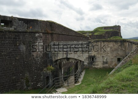 Outer walls of the citadel Stock photo © rmbarricarte