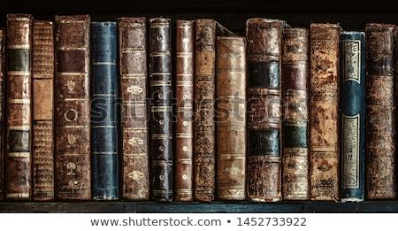 古い 図書 グランジ スタイル 古代 図書 ストックフォト © Valeriy