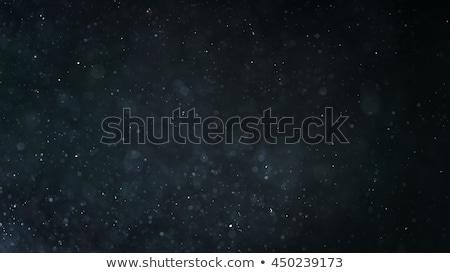 Abstract energie zwarte stof deeltjes illustratie Stockfoto © smeagorl