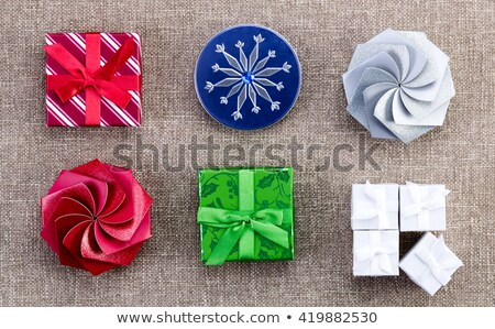 a selection of different christmas gift boxes stock photo © ozgur