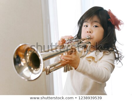 Children playing music in the band Stock photo © bluering