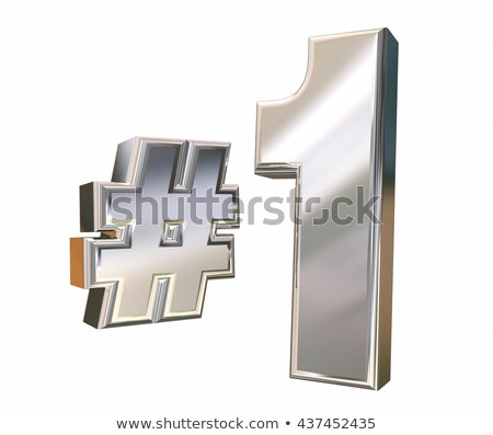 number 1 one rising best top first place 3d illustration stock photo © iqoncept