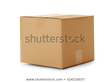 Сток-фото: Closed Cardboard Box