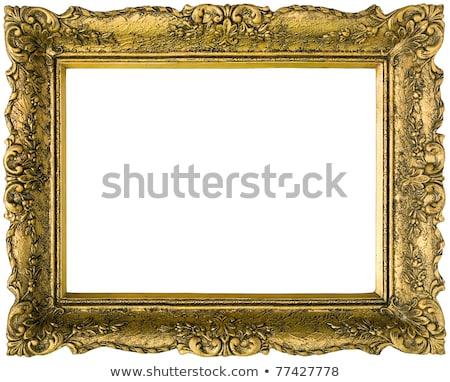 ヴィンテージ 金箔 孤立した テクスチャ ストックフォト © smuki