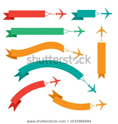 discount tag with plane Stock photo © get4net