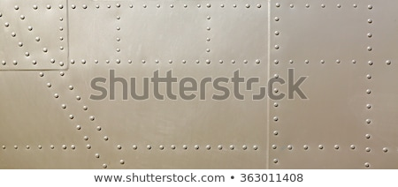 Piece of aircraft grunge metal background Stock photo © michaklootwijk