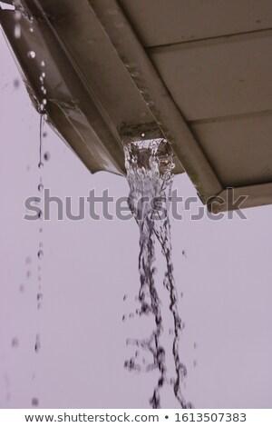 家 · 雨 · 草 · ホーム - ストックフォト © icemanj