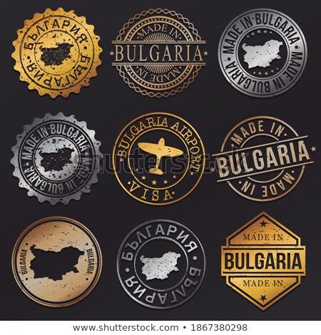 Bosnia · Herzegovina · creativa · sello · oficina · fondo - foto stock © 5xinc