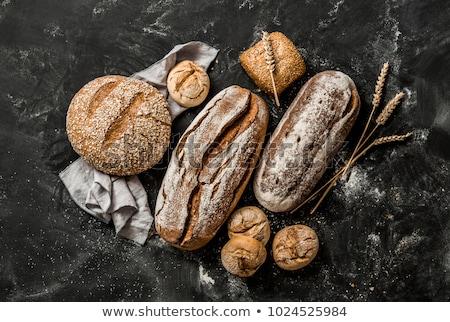 homemade bread with crispy crust stock photo © Digifoodstock