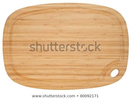 Oval limpar conselho ninguém um Foto stock © Digifoodstock