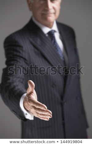 Midsection of businessman offering handshake Stock photo © wavebreak_media
