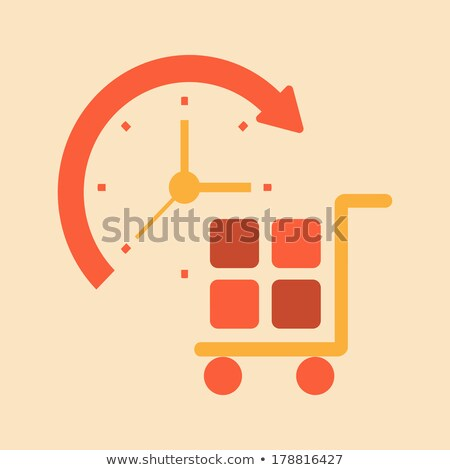 Foto stock: Reloj · marcar · tiempo · vender · negro · negocios