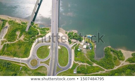 антенна · вокруг · город · Невада - Сток-фото © stevanovicigor
