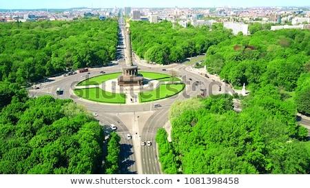 estatua · victoria · Berlín · edificio · arte · azul - foto stock © bezikus