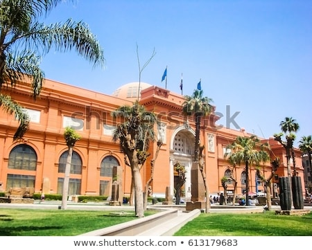Egyptian Museum, Cairo Stock photo © smartin69