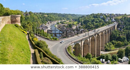 Fransa nehir su yol köprü Avrupa Stok fotoğraf © smartin69
