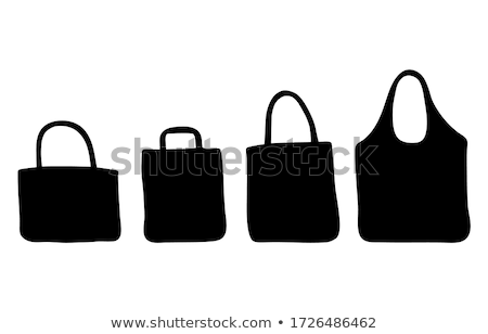 silhouette of refusing purchases Stock photo © Olena