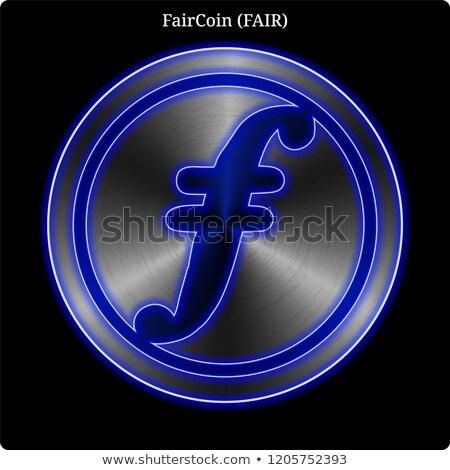 Faircoin - Virtual Currency Coin Image. Stock photo © tashatuvango