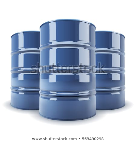 3d illustration of group tanks container isolated. Stock photo © anadmist