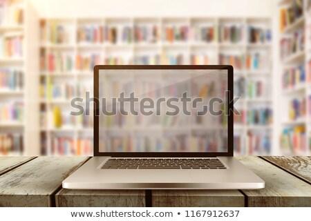 Powierzchnia deska nauczyciel czytania książek Zdjęcia stock © wavebreak_media