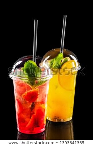 servito · tequila · calce · fette · sopra · primo · piano - foto d'archivio © dash