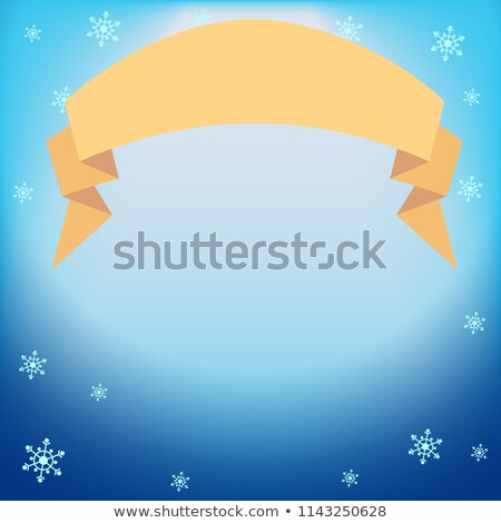 Inverno vetor azul luz efeito projetor Foto stock © heliburcka